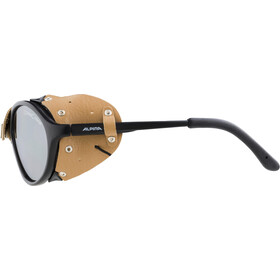 Alpina Sibiria Lunettes, black-brown/brown mirror